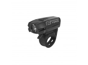 Přední světlo FORCE BUG-400 USB černé