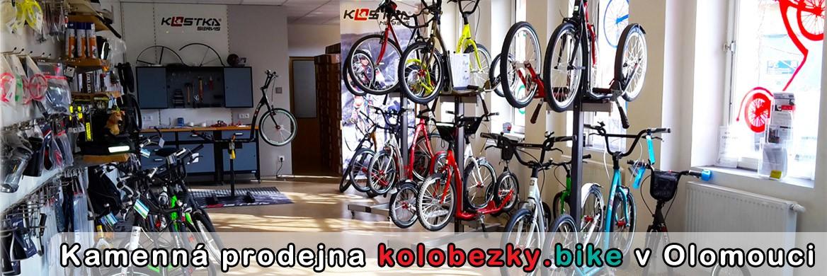 Kamenná prodejna kolobezky.bike